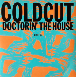 "Coldcut ‎- Doctorin' The House (7"") (VG-EX/EX)"